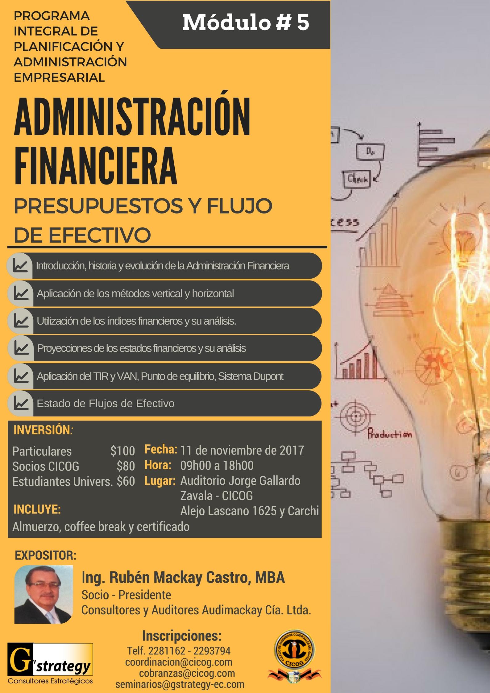 Seminario de Administración Financiera - módulo 5